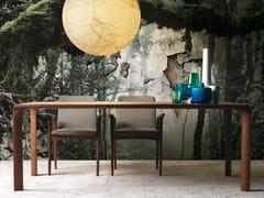 Tavolo da pranzo rettangolare in noce SINTESI   Tavolo in noce - Sintesi