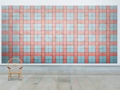 Pannelli decorativi acustici in cemento-legnoBAUX ACOUSTIC TILES SQUARE - BAUX