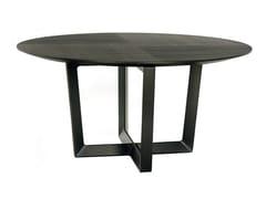 Tavolo rotondo in legno massello BOLERO | Tavolo rotondo - LA COLLEZIONE - Tavoli e sedie