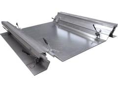 Tecno K Giunti, K UP Giunto per pavimento in alluminio