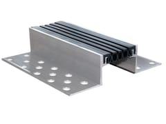Tecno K Giunti, K FLOOR G70 Giunto per pavimento in alluminio