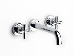 Rubinetto per lavabo a 3 fori a muro LOFT | Rubinetto per lavabo - Loft