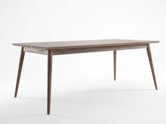 Tavolo da giardino in teak in stile scandinavo VINTAGE OUTDOOR | Tavolo in stile scandinavo - Vintage Outdoor
