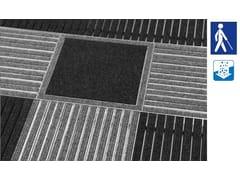 Zerbino tecnico Tappeto tecnico tattile - Sistemi di tappeti tecnici per l'ingresso
