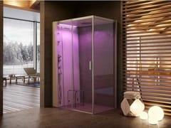 Jacuzzi®, CLOUD 140 Box doccia multifunzione in cristallo con bagno turco