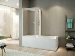 Vasca da bagno angolare con docciaMIX 70 - JACUZZI® EUROPE