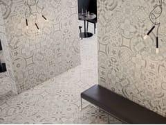 Pavimento/rivestimento in gres porcellanato CEMENTINE WARM - Cementine