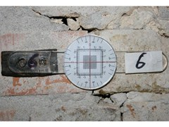 Fessurimetro misuratore di movimento per strutture lesionate Fessurimetro GONIOS lineare -