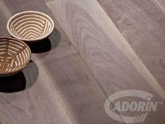 Parquet prefinito spazzolato in legno VECCHIA NOGHERA CORTECCIA | Parquet in legno - Listoni d'Epoca