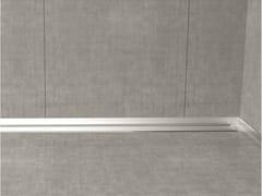 Bordo in acciaio inox per pavimentiGLASS PROFILE GPS5 - PROFILPAS