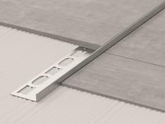 Bordo in acciaio inox per pavimentiGLASS PROFILE GPS3 - PROFILPAS