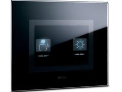 Interruttore per comando luce con simboli LIFE TOUCH | Placca di finitura - Touch Luxury