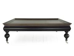 Tavolino basso quadrato in legno massello THOR | Tavolino quadrato - Thor