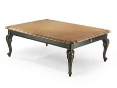 Tavolino rettangolare in legno RIVOLI | Tavolino rettangolare - Rivoli