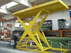 Scissor lifting tables