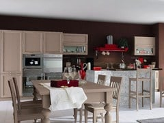 Cucina in legno con isola EVERY DAY | Cucina con isola - Every Day