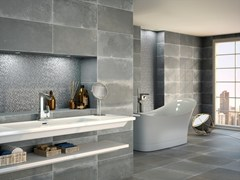 Pavimento/rivestimento in ceramica effetto cementoSPUTNIK 20x60 - CARMEN CERAMIC ART