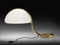 Lampada da tavolo a LED girevole SERPENTE ORO - Serpente
