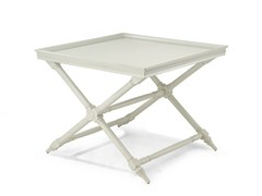 Tavolino di servizio laccato quadrato HABANA | Tavolino laccato - Habana
