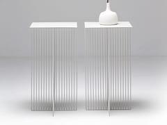 Tavolino in acciaio ACCURSIO | Tavolino - Accursio