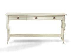 Consolle rettangolare in legno con cassetti EYE | Consolle in legno - Eye