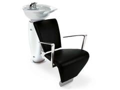 Lavatesta per parrucchieri SWAN ALU - First Class