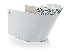 Lavatesta per parrucchieri VA PENSIERO ELECTRA WHITE - Marcel Wanders Design