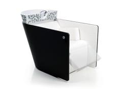 Lavatesta per parrucchieri VA PENSIERO SHIATSU BLACK - Marcel Wanders Design