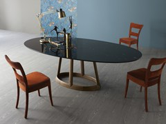 Tavolo ovale in marmoGREENY | Tavolo in marmo - BONALDO