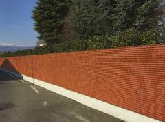 Rivestimento di facciata o recinzione in acciaio cortenTALIALIVE - NUOVA DEFIM