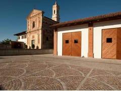 Pavimento per esterni in marmo di CarraraMARMO DI CARRARA - PAVESMAC