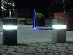 PAVESMAC, SQUARE LIMIT Dissuasore luminoso