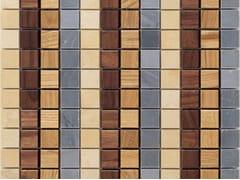 Mosaico in legno e pietraCADENCE - MOSAICO+