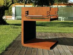 Barbecue in acciaio Corten™C - BQ - METALCO