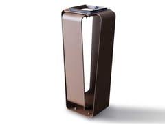 Portarifiuti in acciaio Corten™CLUB C | Portarifiuti - METALCO