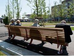Panchina in legno con schienale DIVANO | Panchina -