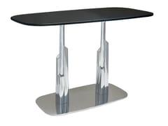 Tavolo in alluminio per contract DUBAI-RONDO-84-2-XAL - Dubai-Rondo