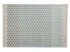 Tappeto rettangolare a motivi geometrici APOTEMA -