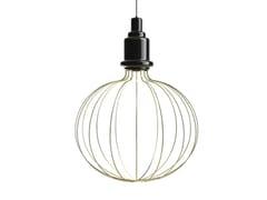 Lampada a sospensione a luce diretta e indiretta in ceramica EDISON BIG B | Lampada a sospensione - Edison