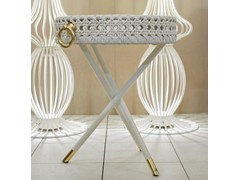 Tavolino da giardino di servizio rotondo SERVANT | Tavolino rotondo - Wezen