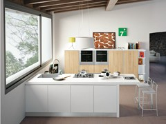Cucina componibile con isolaANK - CREO KITCHENS BY LUBE