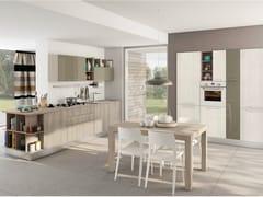 Cucina componibile lineare con maniglieKYRA - CREO KITCHENS BY LUBE