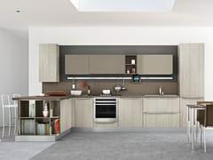 Cucina componibile con penisolaGAYLA | Cucina con penisola - CREO KITCHENS BY LUBE
