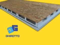 Sistema per tetto ventilatoAIRVENT 28 PANNELLONE VENTILATO - GHIROTTO TECNO INSULATION