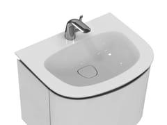 Lavabo da incasso soprapiano con troppopieno DEA - T0446 - Dea