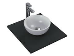 Lavabo da appoggio rotondo singolo in ceramica STRADA - K0793 - Strada