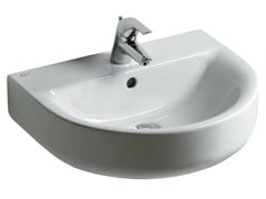 Lavabo singolo sospeso CONNECT 55 x 45,5 cm - E7131 - Connect
