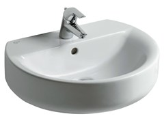 Lavabo singolo sospeso CONNECT 55 x 45,5 cm - E7147 - Connect