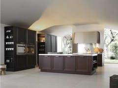 Cucina componibile in legno massello NOA - COMPOSIZIONE 1 - Noa