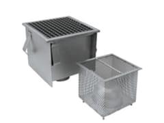 LEONI, Chiusino Grigliato INOX PGR050200 Chiusino grigliato per drenaggio